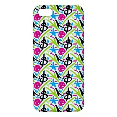 Cool Graffiti Patterns  Apple Iphone 5 Premium Hardshell Case