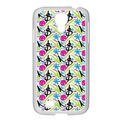Cool Graffiti Patterns  Samsung Galaxy S4 I9500/ I9505 Case (white)