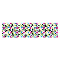 Cool Graffiti Patterns  Satin Scarf (oblong)