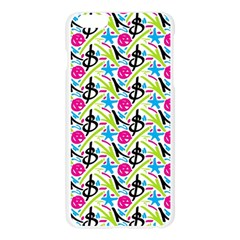 Cool Graffiti Patterns  Apple Seamless iPhone 6 Plus/6S Plus Case (Transparent)
