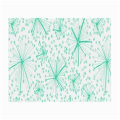 Pattern Floralgreen Small Glasses Cloth (2-Side)