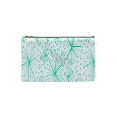 Pattern Floralgreen Cosmetic Bag (Small)