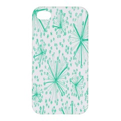 Pattern Floralgreen Apple iPhone 4/4S Hardshell Case