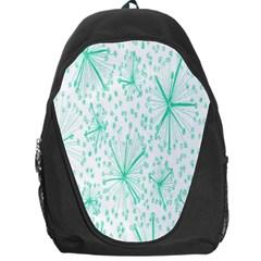 Pattern Floralgreen Backpack Bag