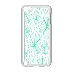 Pattern Floralgreen Apple Ipod Touch 5 Case (white)
