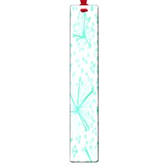 Pattern Floralgreen Large Book Marks
