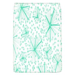 Pattern Floralgreen Flap Covers (l)