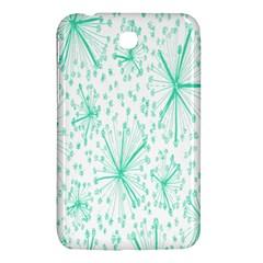 Pattern Floralgreen Samsung Galaxy Tab 3 (7 ) P3200 Hardshell Case