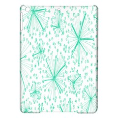 Pattern Floralgreen Ipad Air Hardshell Cases