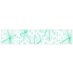 Pattern Floralgreen Flano Scarf (small)