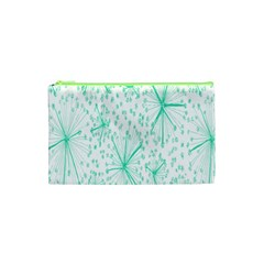 Pattern Floralgreen Cosmetic Bag (xs)