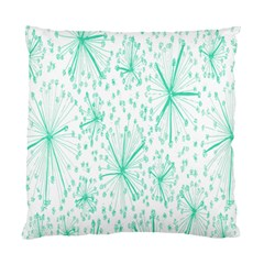 Pattern Floralgreen Standard Cushion Case (two Sides)