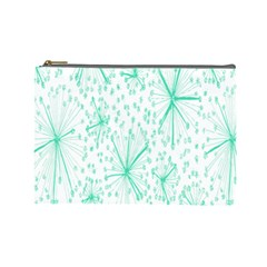 Pattern Floralgreen Cosmetic Bag (Large)