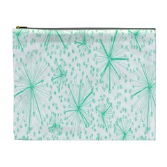 Pattern Floralgreen Cosmetic Bag (xl)
