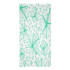 Pattern Floralgreen Shower Curtain 36  x 72  (Stall)