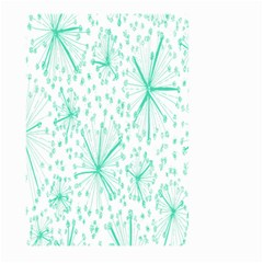 Pattern Floralgreen Large Garden Flag (Two Sides)