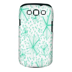 Pattern Floralgreen Samsung Galaxy S Iii Classic Hardshell Case (pc+silicone)