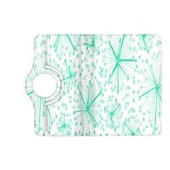 Pattern Floralgreen Kindle Fire Hd (2013) Flip 360 Case