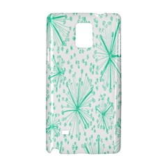 Pattern Floralgreen Samsung Galaxy Note 4 Hardshell Case