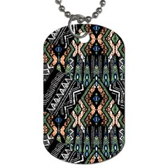 Ethnic Art Pattern Dog Tag (One Side)