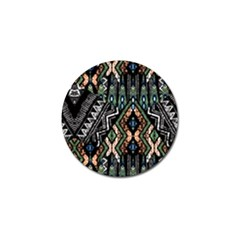 Ethnic Art Pattern Golf Ball Marker