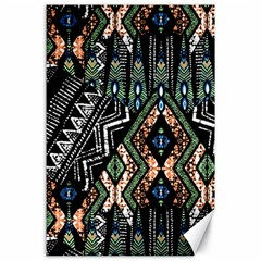 Ethnic Art Pattern Canvas 24  x 36