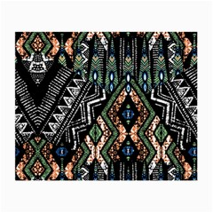 Ethnic Art Pattern Small Glasses Cloth (2 Side)