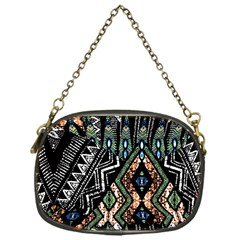 Ethnic Art Pattern Chain Purses (one Side)