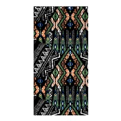 Ethnic Art Pattern Shower Curtain 36  X 72  (stall)