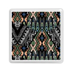 Ethnic Art Pattern Memory Card Reader (square)