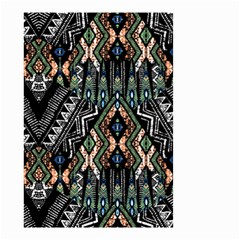 Ethnic Art Pattern Small Garden Flag (two Sides)