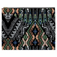Ethnic Art Pattern Cosmetic Bag (xxxl)