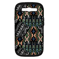Ethnic Art Pattern Samsung Galaxy S Iii Hardshell Case (pc+silicone)