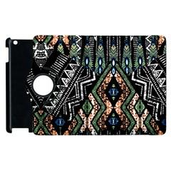 Ethnic Art Pattern Apple Ipad 3/4 Flip 360 Case