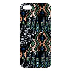 Ethnic Art Pattern Iphone 5s/ Se Premium Hardshell Case