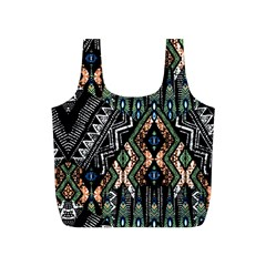 Ethnic Art Pattern Full Print Recycle Bags (s)