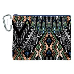 Ethnic Art Pattern Canvas Cosmetic Bag (XXL)