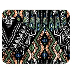 Ethnic Art Pattern Double Sided Flano Blanket (medium)