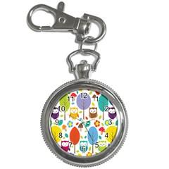 Cute Owl Key Chain Watches