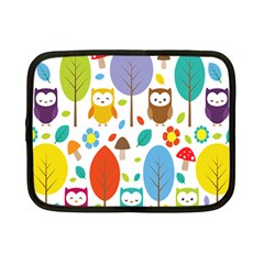 Cute Owl Netbook Case (small)