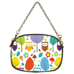 Cute Owl Chain Purses (two Sides)