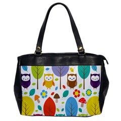 Cute Owl Office Handbags