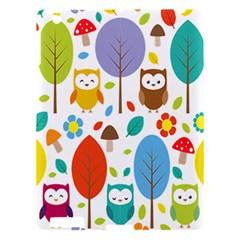 Cute Owl Apple iPad 3/4 Hardshell Case