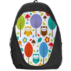 Cute Owl Backpack Bag