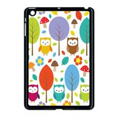 Cute Owl Apple Ipad Mini Case (black)