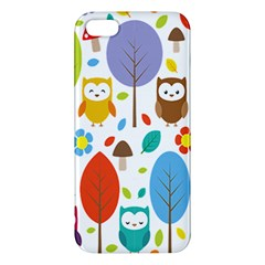 Cute Owl Apple Iphone 5 Premium Hardshell Case