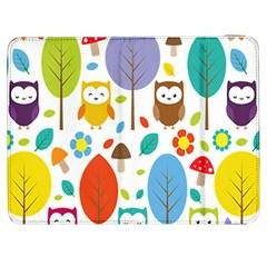Cute Owl Samsung Galaxy Tab 7  P1000 Flip Case