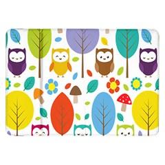 Cute Owl Samsung Galaxy Tab 8 9  P7300 Flip Case