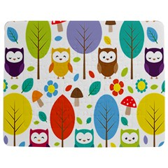 Cute Owl Jigsaw Puzzle Photo Stand (Rectangular)