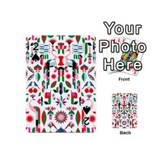 Abstract Peacock Playing Cards 54 (Mini)